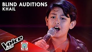Khail Samson - Salamat | Blind Auditions | The Voice Kids Philippines Season 4