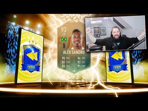 SERIE A TOTS, EREDIVISIE TOTS & INSANE 93 FLASHBACK SANDRO! - FIFA 19 Ultimate Team