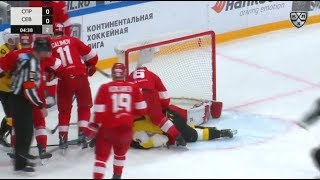 Severstal 0 Spartak 3, 23 January 2020