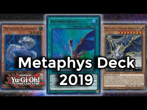 Yu-gi-oh! Metaphys Deck August 2018 YgoPro Replays +