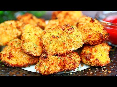Air fryer Chicken Nuggets Recipe - Crispy Chicken Nuggets