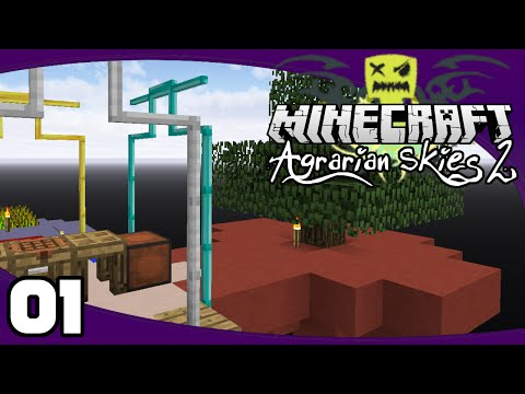 Agrarian Skies 2 - Ep. 1: Getting Started | AS2 Minecraft Modpack Let's Play