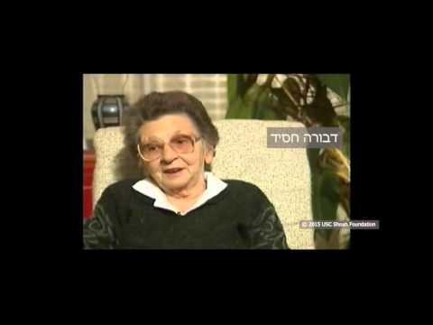 ניצולת שואה מלייפאיה שבלטביה, מספרת על החיים בלייפאיה בין מלחמות העולם