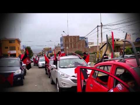 """""""Pasacalle Rojinegro 21.02.2015 - Música: La hinchada que nunca abandona"""" Barra: León del Svr • Club: Melgar"""