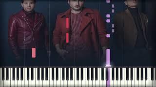Reik, Manuel Turizo   Aleluya | Piano Cover | Instrumental Karaoke