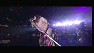 Aerosmith - Lover Alot - Letterman 11-01-12