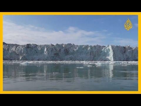 ذوبان الأنهار الجليدية