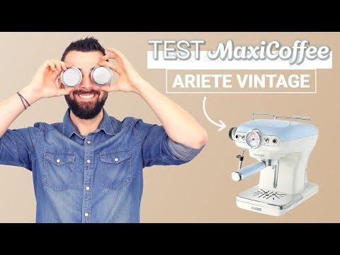 ARIETE VINTAGE | Machine expresso compacte | Le Test MaxiCoffee