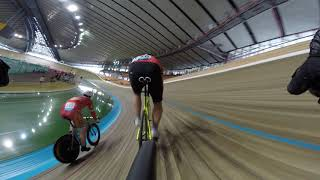 Moscow velodrome, scratch race, 20.01.2019
