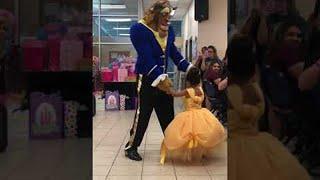 Dad Surprises Birthday Girl With Special Dance || ViralHog