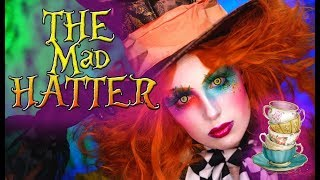 THE MAD HATTER | HALLOWEEN MAKEUP TUTORIAL 2018 | Victoria Lyn