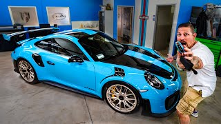 FIRST NORTH AMERICAN DELIVERY PORSCHE GT2 RS 700 HP TURBO! *MIAMI BLUE*