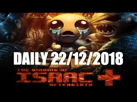 The Binding of Isaac: Afterbirth+ Daily (22-12-2018)