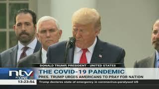 President Trump announces National Prayer Day