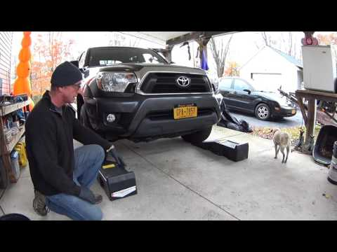 Harbor Freight Auto Ramp Review and Demonstration