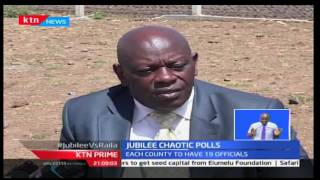 KTN Prime: Chaos continues as Jubilee party interim officials elections' enters day two, 14/12/16