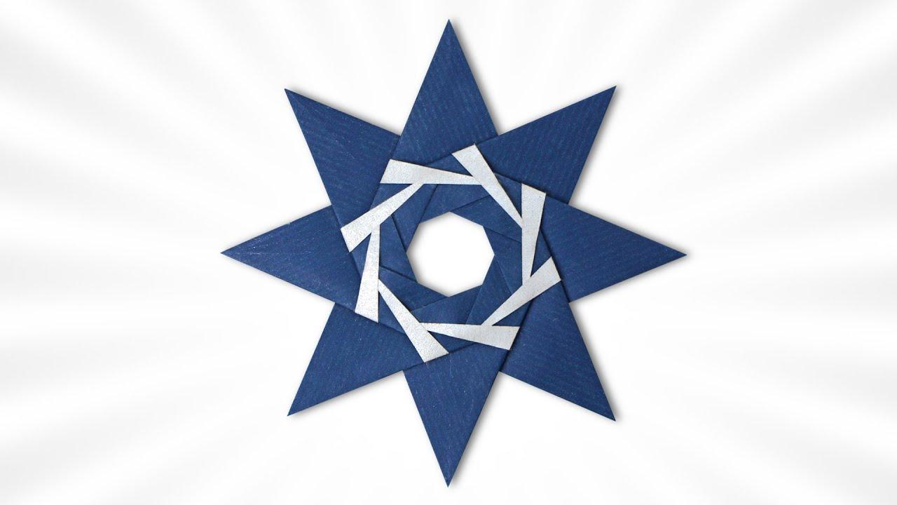 Origami Niji Star V2 (Usman Rosyidhi)