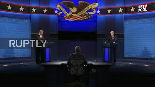 """USA: """"Proud Boys, stand back and stand by,"""" says Trump, Biden brands him """"racist"""""""