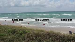 Danger Rip Current: Instructional Guide