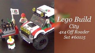 Let's Build - Lego City 4x4 Off Roader Set #60115