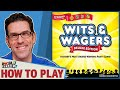 Wits amp Wagers How To Play amp Game Play