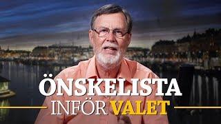ÖNSKELISTA INFÖR VALET