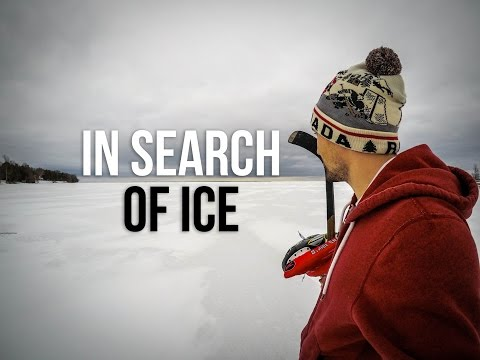 Searching for Perfect Ice - Lake Hockey