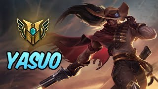 HOW TO PLAY YASUO | Build & Runes | Diamond Commentary | High Noon Yasuo | League Of Legends