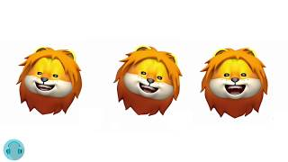 Three Lion Animoji's Singing It's Coming Home
