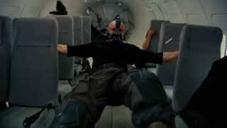 Bane Voiced by Duke Nukem - Plane Heist