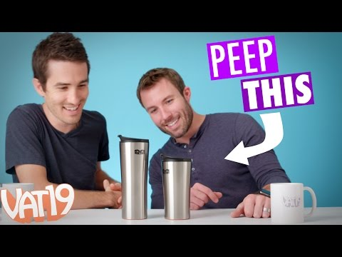Peep This: Mighty Mug Doesn't Tip Over | Ep. #19