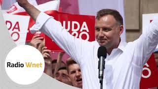 Andrzej Duda dla Radia WNET: Ludzie oczekiwali, żeby powiedzieć, kto jest bohaterem, a kto zdrajcą