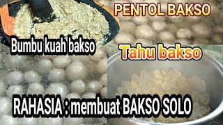 resep rahasia membuat bakso yang paling enak (bakso solo) - bersama cenut nut