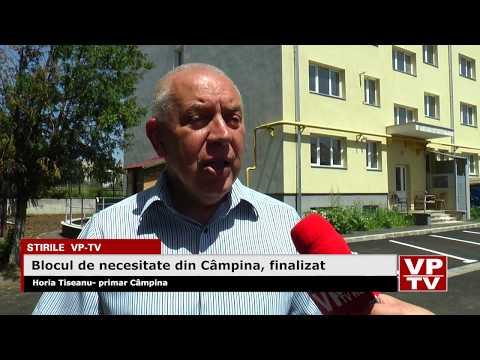 Blocul de necesitate din Câmpina, finalizat