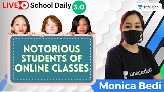 Notorious Students of Online Classes :-) | YouTube Festival | Monica Bedi - MONICA