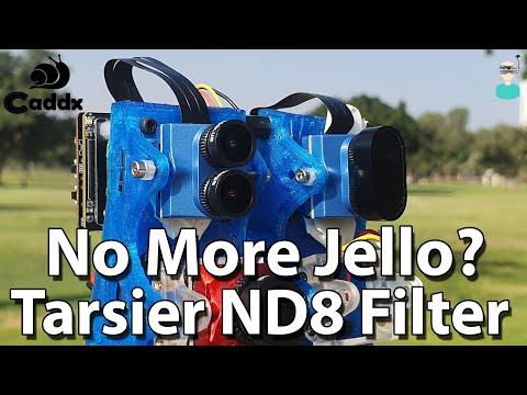 Caddx Tarsier - ND Filter Side By Side Comparison