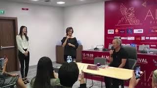 Всемирно известный режиссёр Ким Ки Дук спел песню «Ариранг» для алматинцев