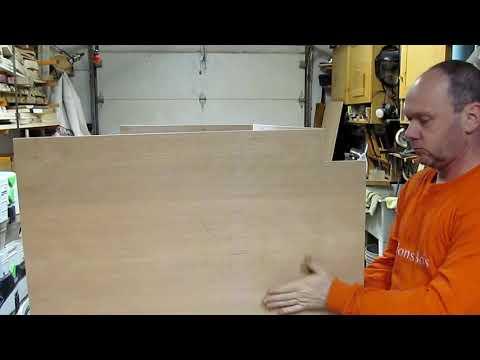 Comment faire un meuble lavabo. Parlons Bois Ep.259