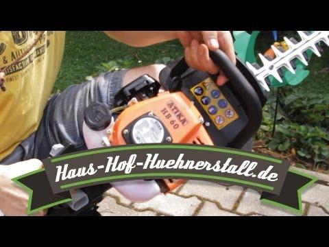 Test Atika HB60 Benzin Heckenschere