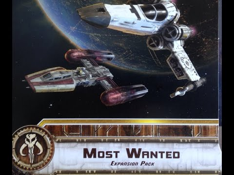"The Cardboard Dungeon: X-Wing - ""Most Wanted"" Part 2"