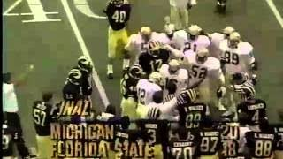 1986 Michigan Replay Michigan vs. Florida St.