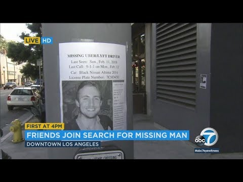 Friends searching for missing rideshare driver in LA | ABC7