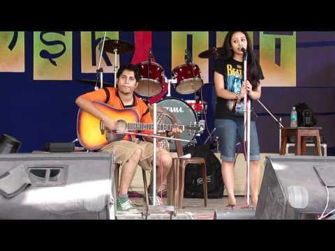 Ankhi and Wriddh LIVE@Sanskriti 2012-La Llorona(Spanish Folk)