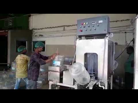 Automatic Water Jar Washing Machine