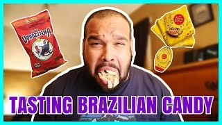 TASTING BRAZILIAN CANDY!