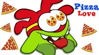 🍕❤️ Love For PIZZA Om Nom Stories -Cut The Rope | Funny Cartoons for Kids  सुपर नॉम | अॉम नॉम हिंदी