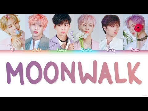ASTRO (아스트로) – MOONWALK Lyrics (Color Coded/HAN/ROM/ENG)