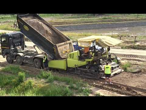 Budowa drogi ekspresowej S19 (obw. m. Kraśnik) - tydzień 04 - Lipiec 2021