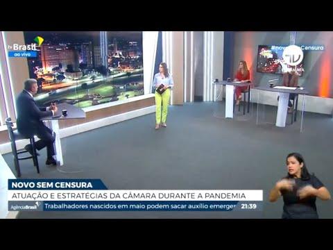 Lira fala sobre agenda da Câmara no Sem Censura - 11/05/21