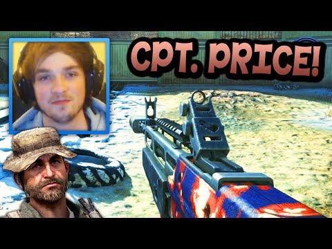 """GOTCHA!"" – Call of Duty: Ghost ""CAPTAIN PRICE"" Camo! – LIVE w/ Ali-A!"